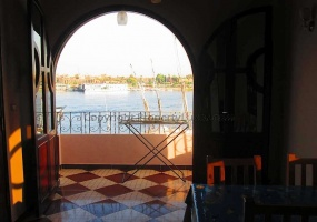 W0112 - Commodation at the Nile in El Ramla - Living