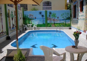 W0011 - Apartment with pool in El Ramla - Garden