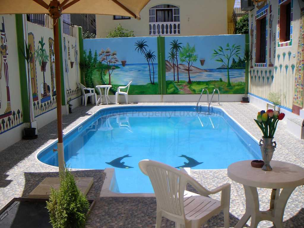 W0011a - Guesthouse with pool in El Ramla - Building