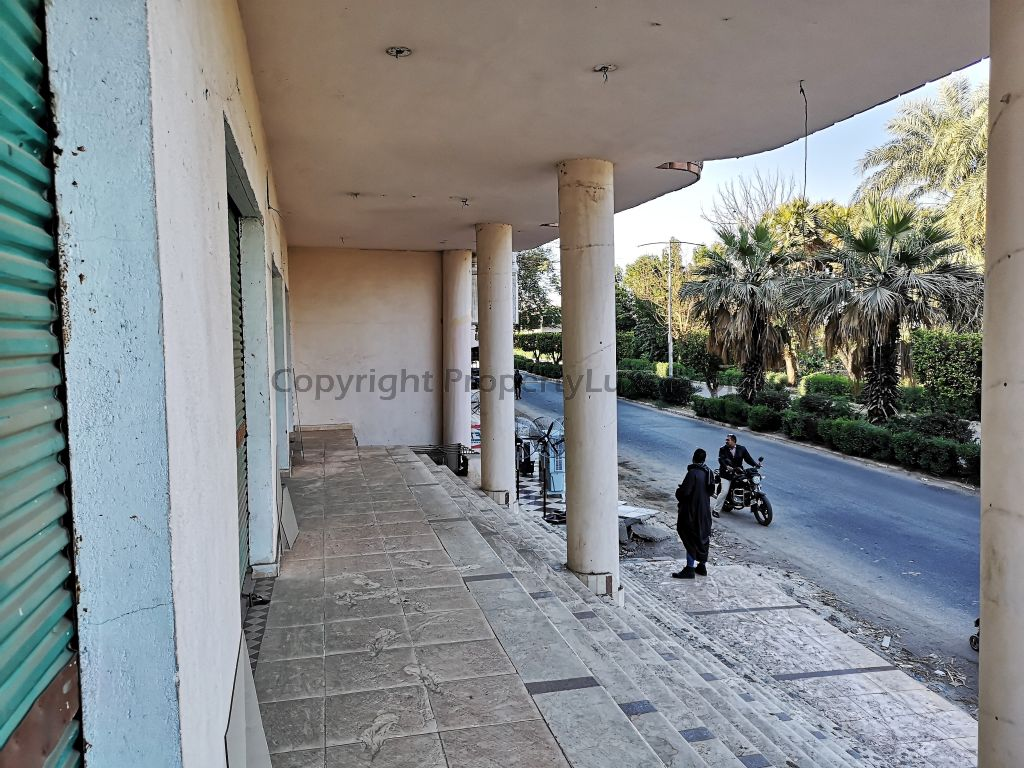 W0019 - Shop for rent in El Gezira - Building